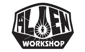 imagotipo alien workshop