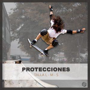 PROTECCIONES PARA CAIDAS EN SKATE