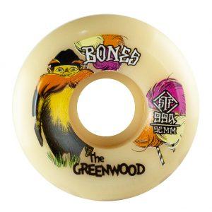 ruedas de skate greenwood 52mm